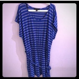 Soft and comfy striped forever 21 dress plus size